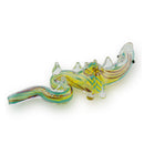 "5"" Dragon Hand Pipe Inside Color Lining Approx 95 Grams"