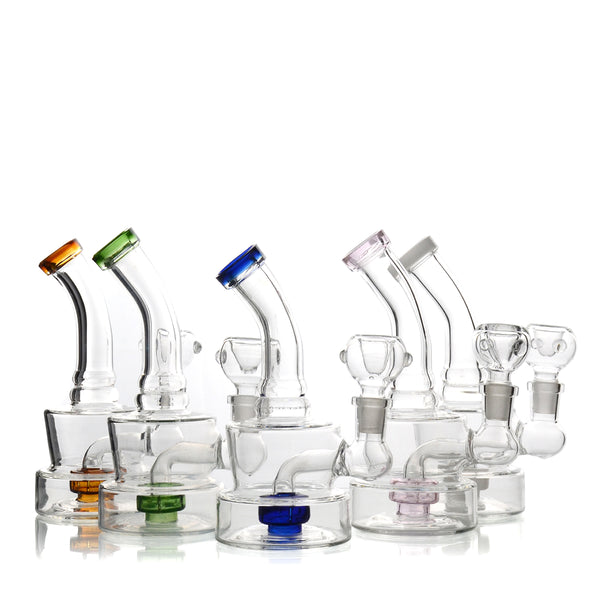 "6"" Water Pipe Color  Mertix 14mm Male Bowl Included Approx 150 Grams"