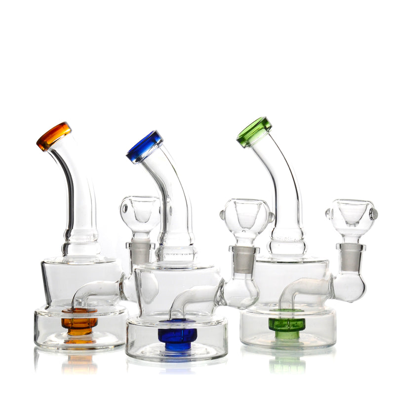 "6"" Water Pipe Color  Metrix 14mm Male Bowl Included Approx 150 Grams"