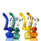 "7"" Color Tube Bubbler with 14mm Male Bowl Approx 145 Grams"