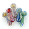 "2.5"" Spoon Hand Pipe Mix Color Frit Design Approx 40gram"