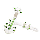 "7"" Color Dots Hammer with 14mm Female Bowl and Nail Approx 165 Grams"