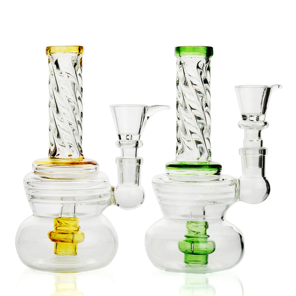 "6"" Bong R4 Neck Design 14mm Male Bowl Approx 160 Grams"