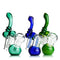 "7"" Bubbler Color tube double chamber APROX 200 Grams"