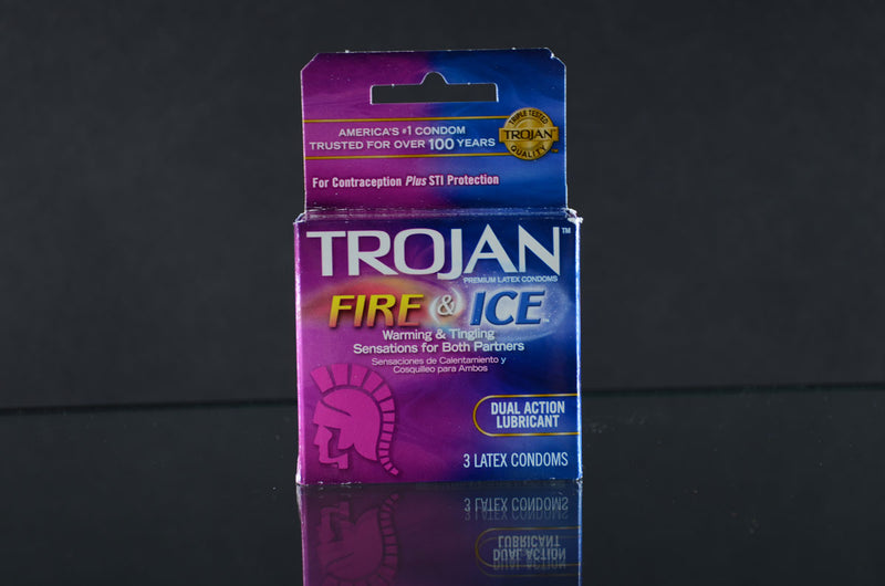 Trojan Fire & Ice Condoms 18ct
