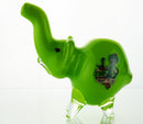 Elephant hand pipe in color design