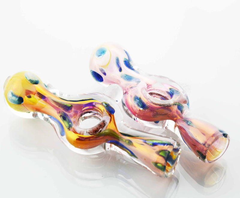 "3"" Gold Fumed Chillum"