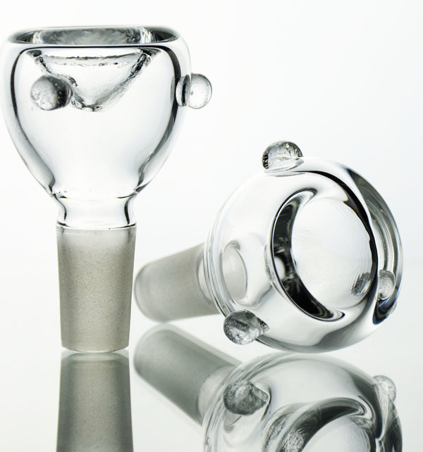 Clear Glass Bowl 14mm Male
