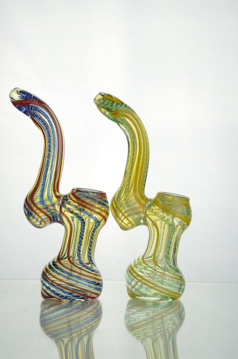 "6"" Bubbler Twisting Design"