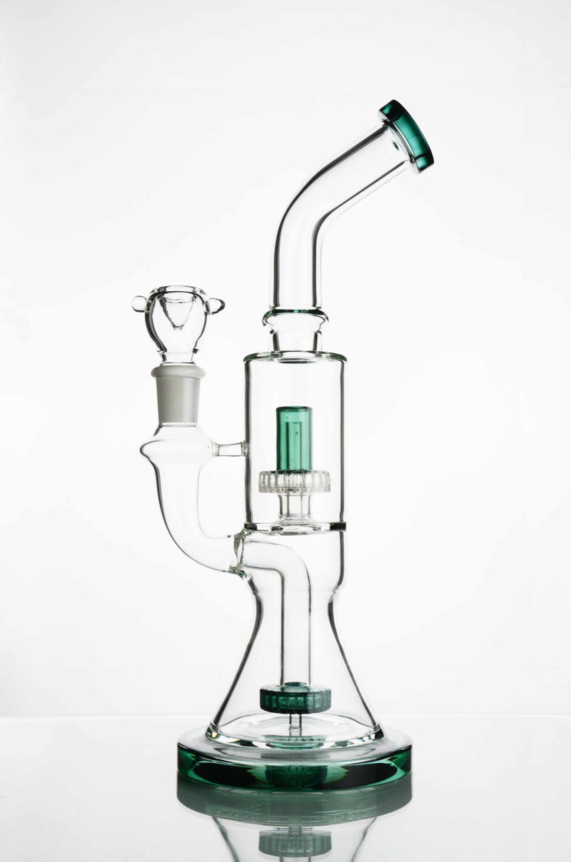 "12"" Conical Bong Double Metrix"