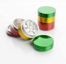 32MM  Metal Rasta Colored Grinder