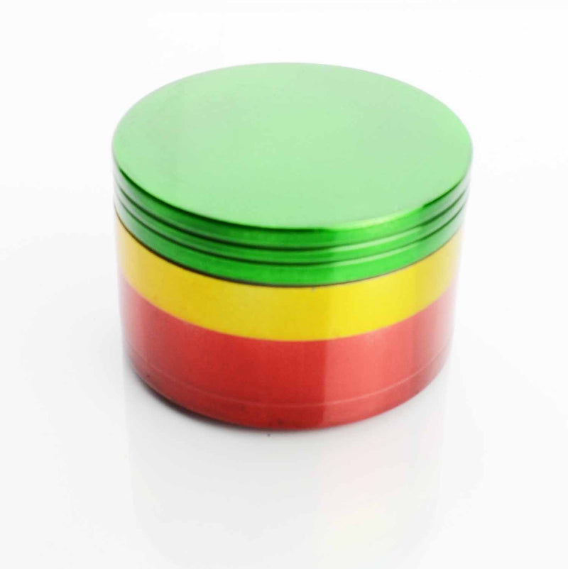 62MM  Metal Rasta Colored Grinder