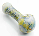 "4.5"" Hand Pipe Round Lining on Handle 150 Grams"