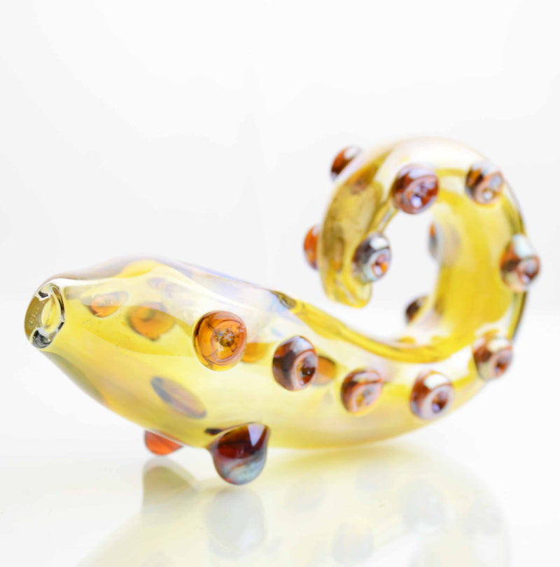 "5"" Hand Pipe Octupus Leg Design Fumed 130-135 Grams"