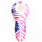 "4"" Silicone Hand Pipe with Colorful Prints"