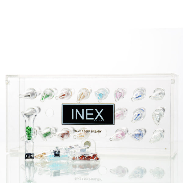 INEX Glass Tips With Crystal Thin