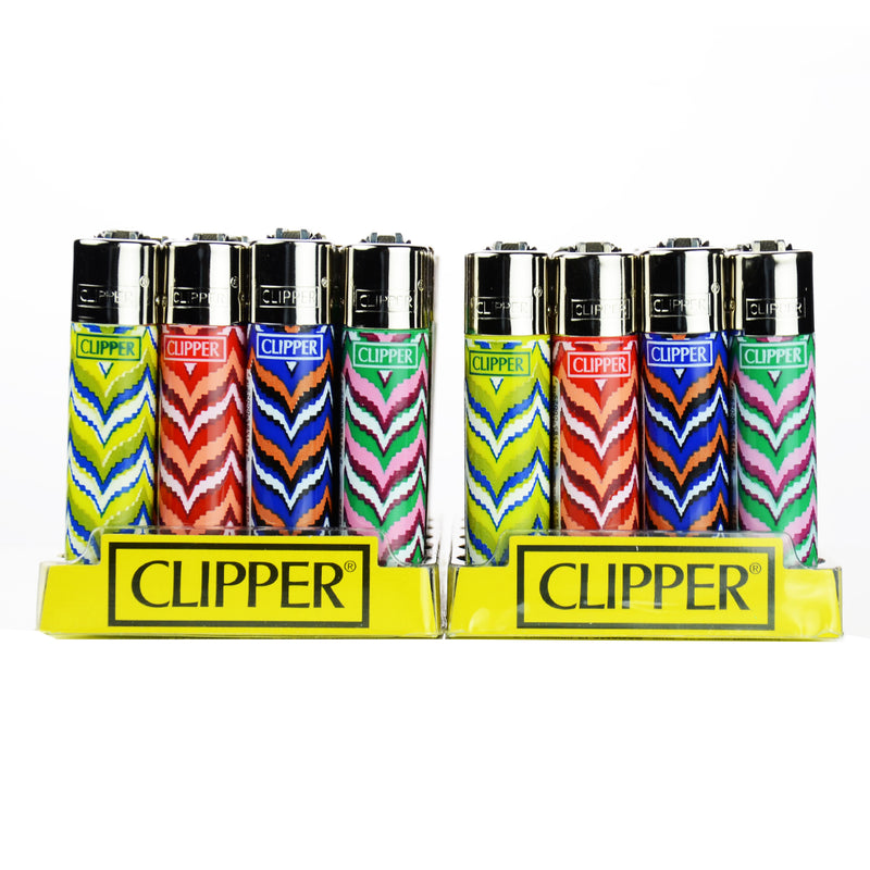 Clipper Lighters Flint Lighters Display 48ct