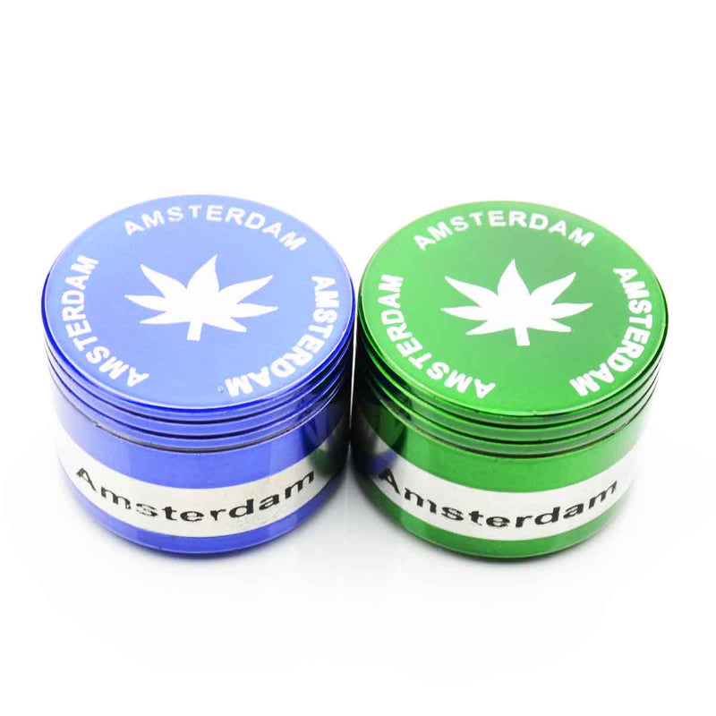 42mm Color Leaf Print Grinder Amsterdam