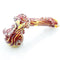 "5"" Hammer Red Blood Fumed Water Pipe PROX 146 Grams"
