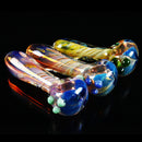 "4"" Hand Pipe Gold Art Twisting Fume 80 Grams"