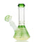 "8"" Conical Beaker with Down Stem 14MM Bowl APROX 255 Grams"