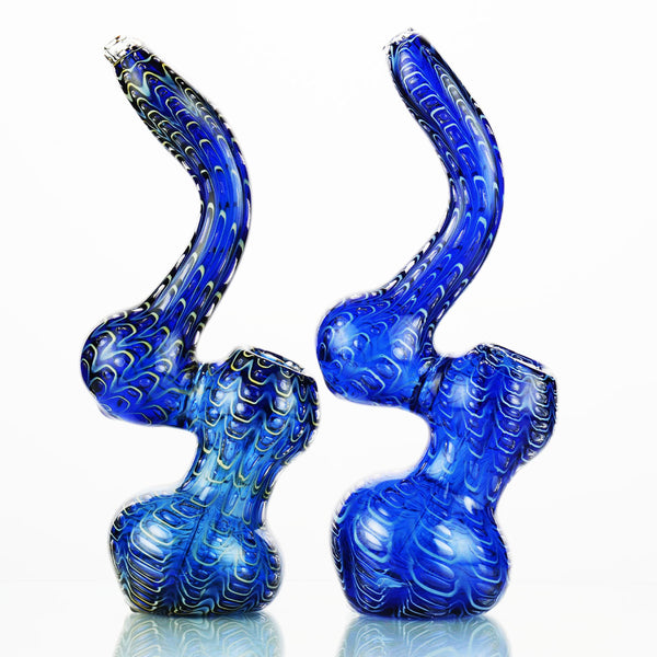 "8"" Bubbler Blue Quilted APROX 230 Grams"