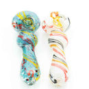 "4.5"" Hand Pipe Heavy Color Frit APROX 145 Grams"