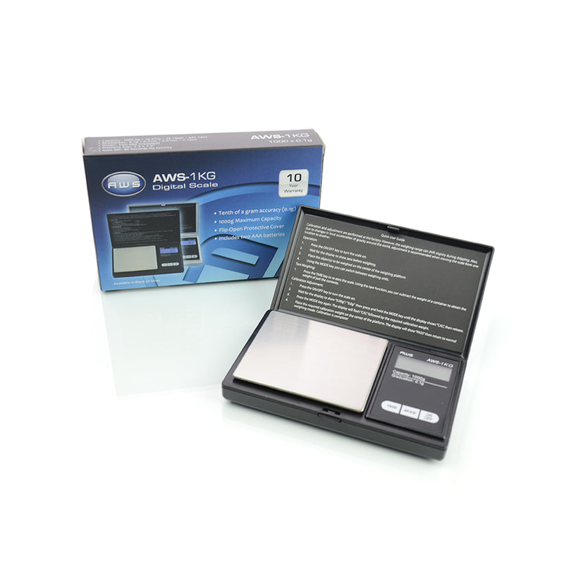 AWS Digital Pocket Scale AWS - 1KG ( 1000 x 0.1 g )