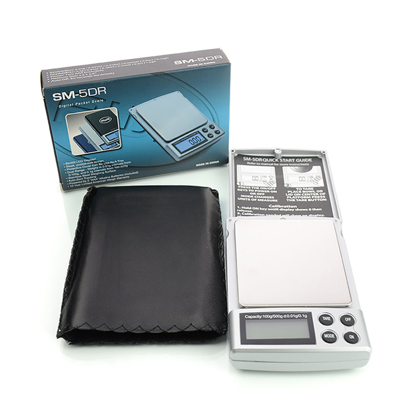 AWS Digital Pocket Scale SM-5DR 100 x 0.01 g / 500 x 0.1g