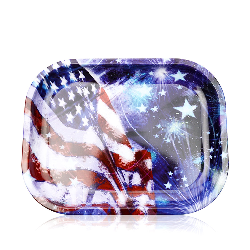 Rolling Tray The American Flag
