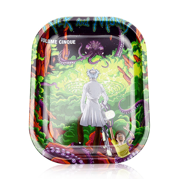Rolling Tray Octopus Green R & M