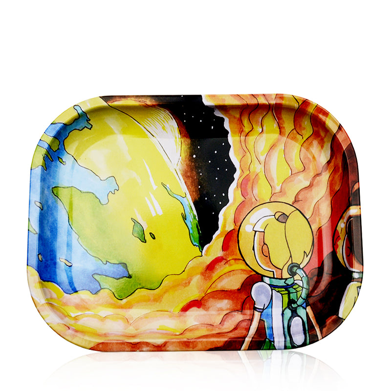 Rolling Trays Fire-Earth Print