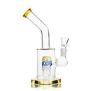 "8"" Bong with Wired Color Perk 14mm Male Bowl Included APROX 245 Grams"