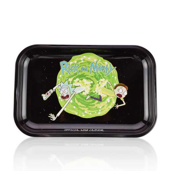 Metal Rolling Tray Medium Official R&M 2018