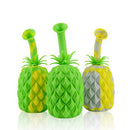 "7"" Silicone Bong Pineapple Design with 14mm Male Bowl"