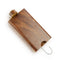 "4"" Wood Dugout with Metal Hook for Dry Herb"
