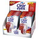 Clear Eyes Redness Relief Eye Drops 12 pieces box