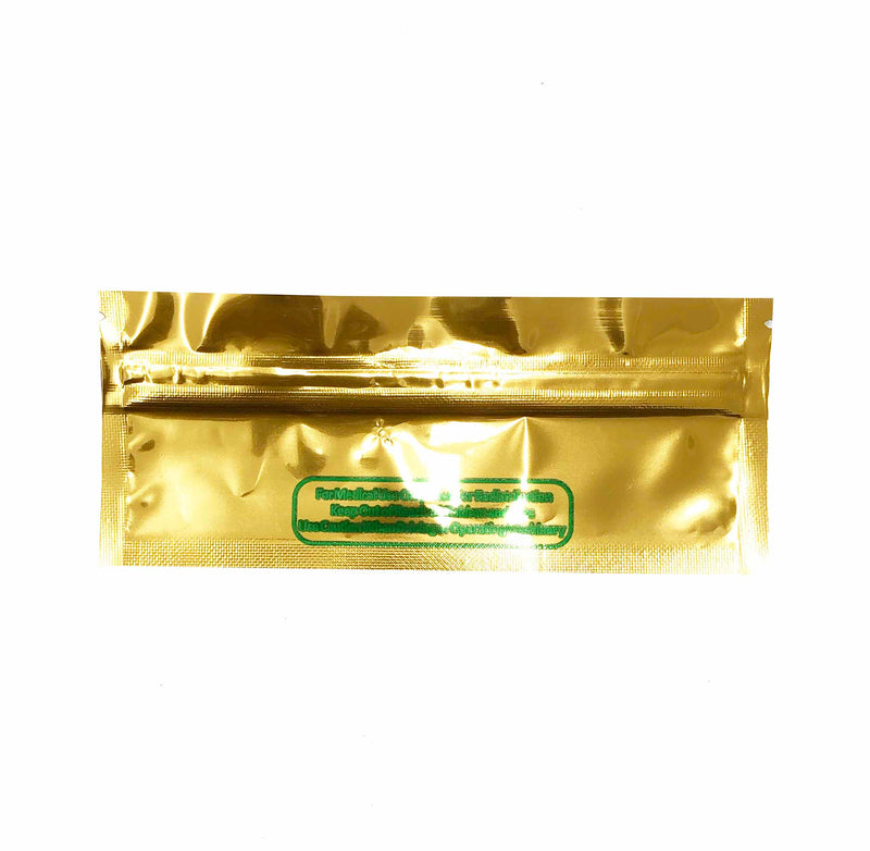 Mylar Bag Gold for Joint 120mm
