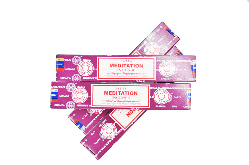 MEDITATION SATYA NAG CHAMPA INCENSE