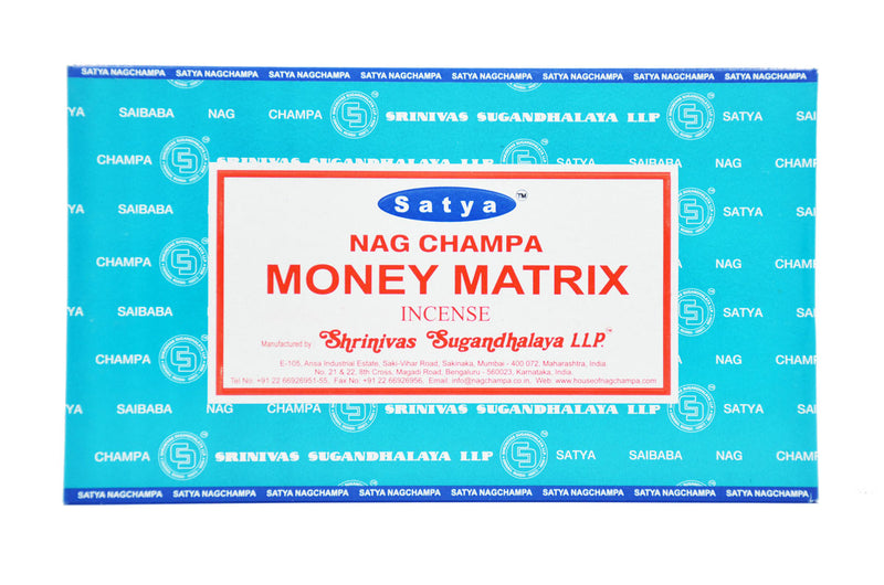 Money Matrix SATYA NAG CHAMPA INCENSE