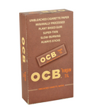 "OCB VIRGIN 1 1/4"" UNBLEACHED 24 BOOKLETS"