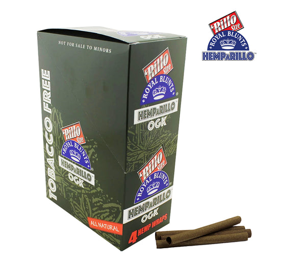 RILLO SIZE ROYAL BLUNTS A RILLO OGK TOBACCO FREE