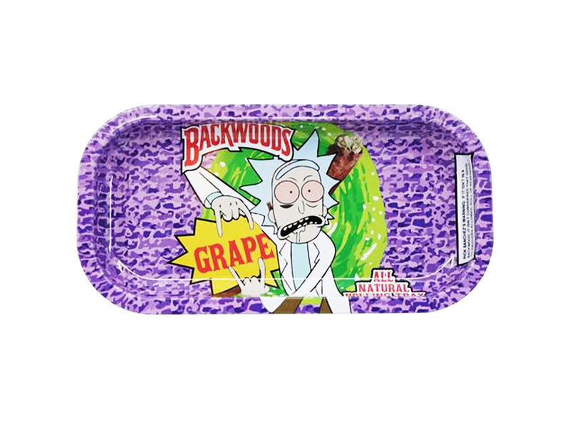 R and M Rolling purple color Tray Backwoods
