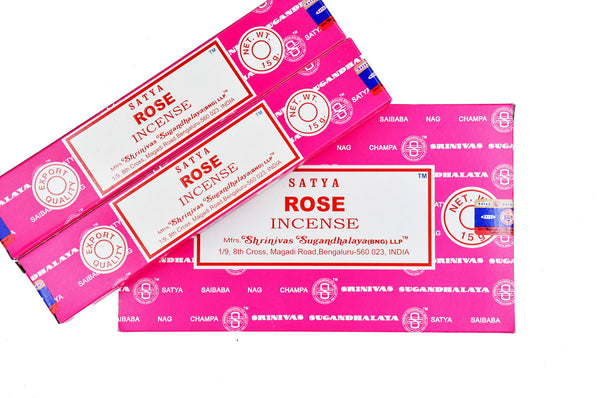 Rose SATYA NAG CHAMPA INCENSE