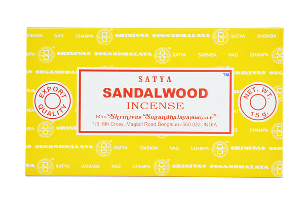 Sandalwood SATYA NAG CHAMPA INCENSE
