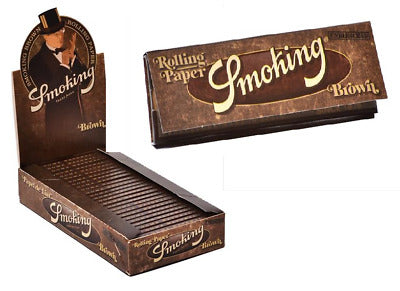 SMOKING MEDIUM BROWN ROLLING PAPER 50 LEAVES