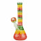 "10"" Kabootar zig zag Color work Beaker"