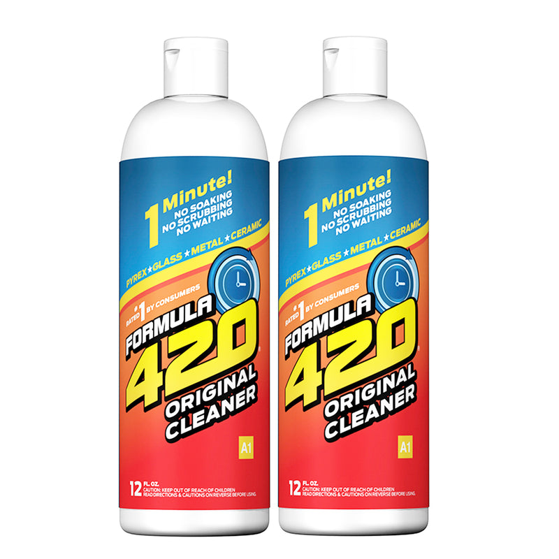 420 Cleaning Formula Glass Bong and Pipe Cleaner 12 OZ