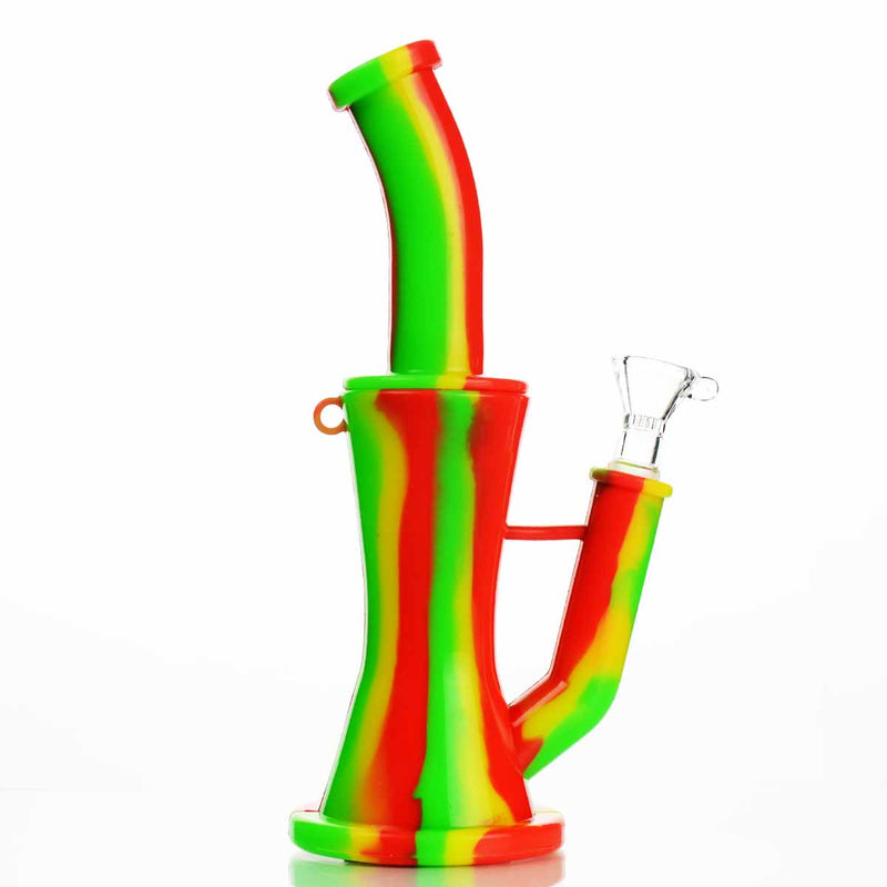"8"" Silicone Water Pipe with Perc"
