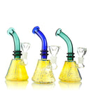 "7"" Bong Fume Conical Color tube Neck 14mm Male Bowl Included Approx 205 Grams"